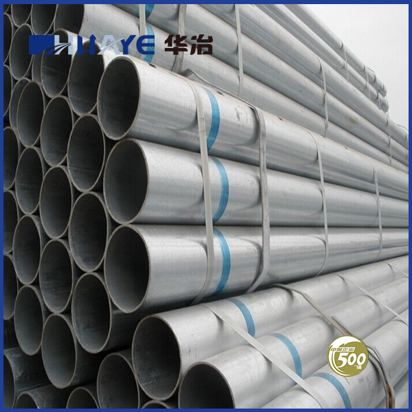Low Carbon Astm A53 Grade B Schedule 40 Galvanized Steel Pipes
