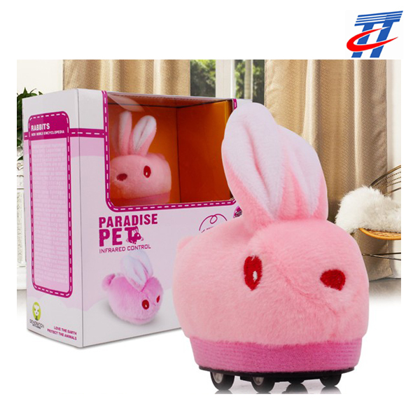 2016 new RC cute plush rabbit