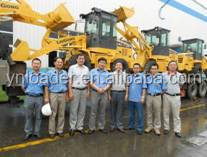 Yineng cina YN710Mini wheel loader Luneng machinery YN