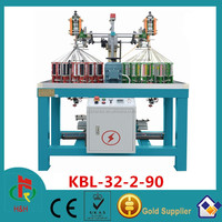 Flat Rope Braiding Machine from Manufacturer for Shoe Lace / Fashion Bag / Clothes / Bag Handle