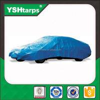120GSM Heated Plain Car Plastic Tarpaulin Cover
