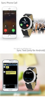 S365-1smart watch android dual sim MTK2502 for Iphones/Android Phones with Heart Rate