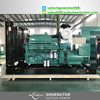 60hz ISO CE certificated diesel generator 500kw powered by Cummins engine KTA19-G3A