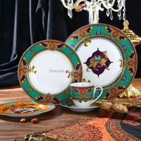 30 Pieces Luxury Porcelain Dinner Set