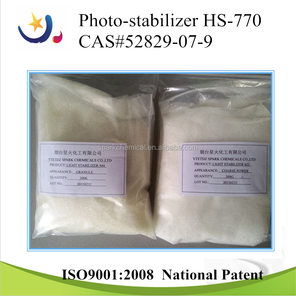 770 granula(cas no:52829-07-9) used in anti-photooxidation of polyethylene
