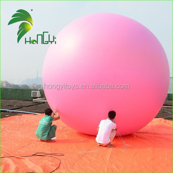 Customized PVC Pink Balloon Inflatable for Helium