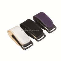 Bulk cheap popular style leather materlai flash drive usb