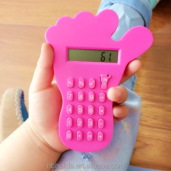 Promotional foot shape mini gift calculator/ HLD-803