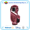 Golf Bag -14 Way Top Divider Red & Pink w/Strap