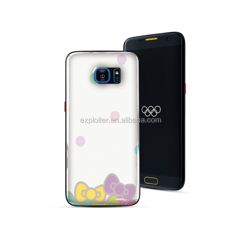 Durable protective epoxy resin 5.5 inch cellphone cover for GALAXY S7 SM-G9350