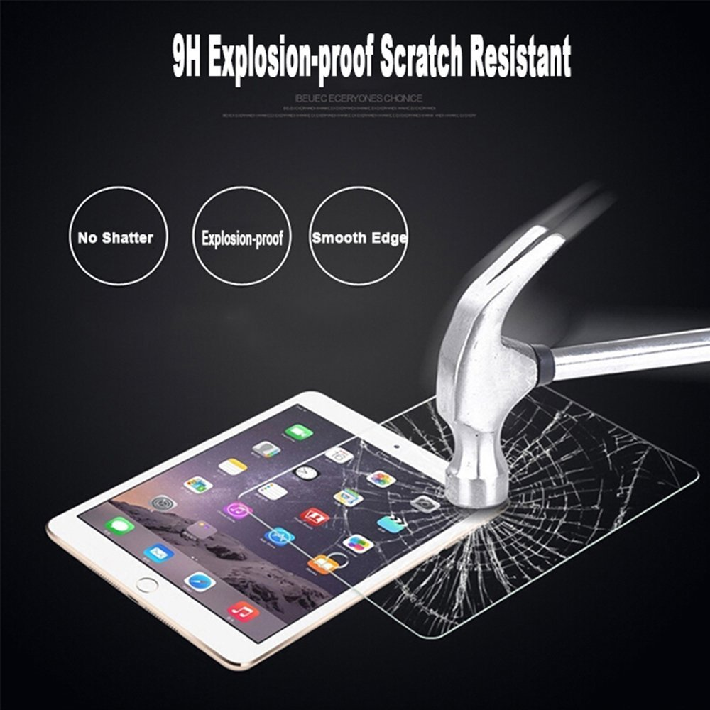 wholesale high quality 2016 tempered glass screen protector for 7 inch tablet for laptop