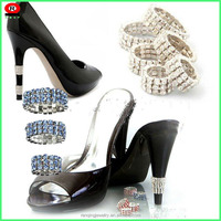 Rhinestone shoe ring used for high heel protector