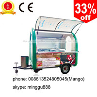 OEM mobilfe food van for rent with CE