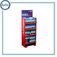 Floor Standing Pop Up Store Display Shelves,Discount Promotion One-side Grocery Store Display