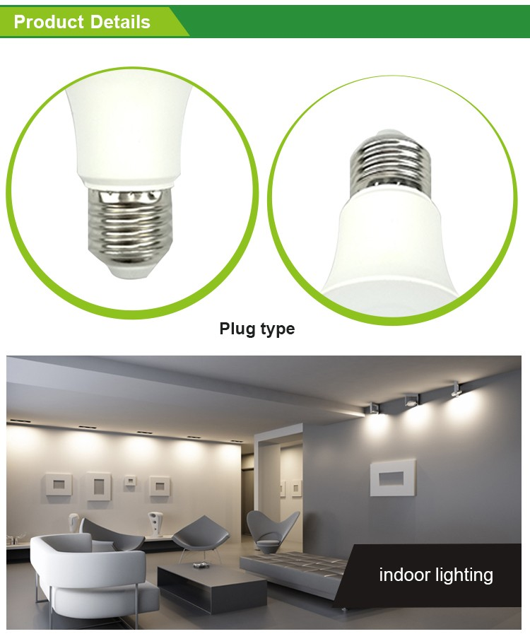 Factory Supplier replacement 7W led bulb lamp factory