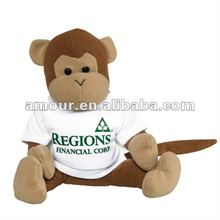 cute!bean bag animal monkey stuffed monkey doll birthday gifts new toys for christmas 2013