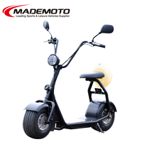 60v 800w1000w lithium battery city coco fat tire electric scooter/harley electric motorcycle