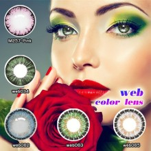colored new arrival contact lenses Cosplay contact lens packaging oem