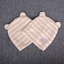 Strip small cat hot sell newborn 100% color cotton baby hat