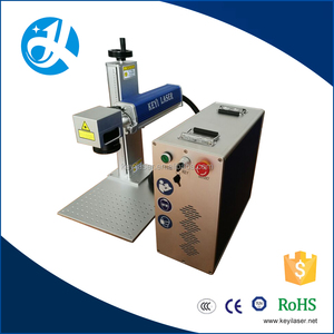 20w 30w jewelry Zippo metal name plate portable fiber laser making engraving cutting machine price