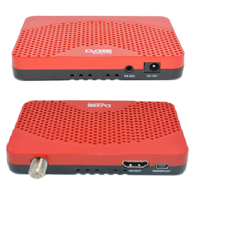 HD DVB-S2 Digital Video <strong>Satellite</strong> Receiver Set Top Box w/ Full Multimedia Player