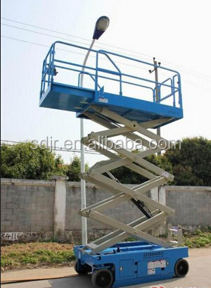 self-propelled aerial work lift platform/self-propelled scissor lift
