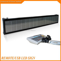 High Brightness Indoor Led Display Screen With RGY Color And Remote Control
