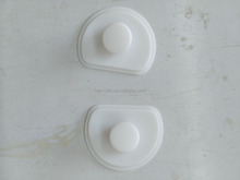 molded silicone rubber cap button