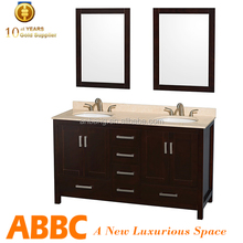 Classic lowes double sink vanity america design Sheffield60-49A