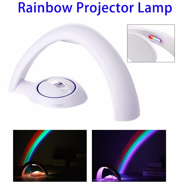 Wholesale LED Rainbow Laser Night Light Projector for Baby Kinds Bedroom