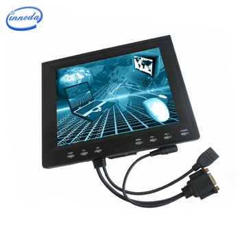 8inch HD VGA Port Computer Monitor 12V Cheap Lcd Monitor