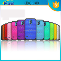 Colorful Diamond hybrid case for samsung galaxy s5 sv i9600 i9500x g900