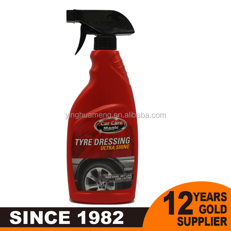 eco friendly car polish tire shine wholesale car wax