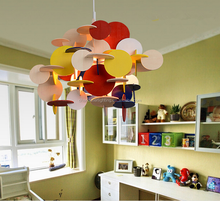 Hot selling modern Colorful wooden children Chandelier