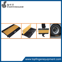 hot sell portable newest outdoor cable ramp with PU material