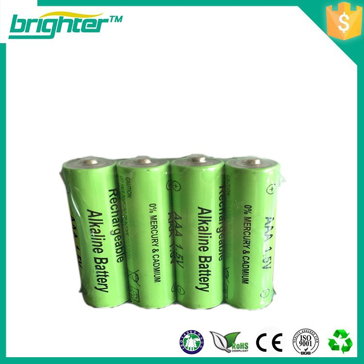 rechargeable aaa alkaline rocket battery with xxl power life