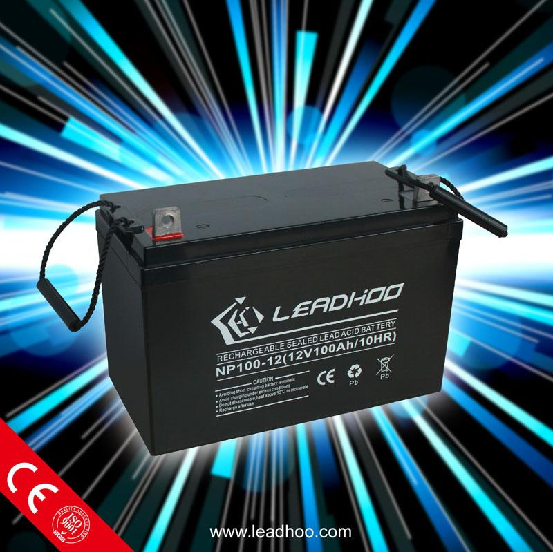 Solar cell 12V 100AH Sealed Lead Acid deep cycle Battery Manufacturer