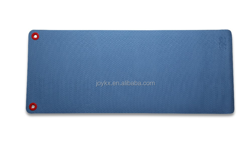 Top quality double layer anti-slip eco hanging yoga mat
