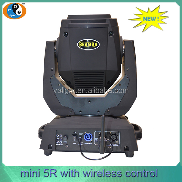 New arrival 16CH mini stage light 5r beam 200w sharpy beam moving head