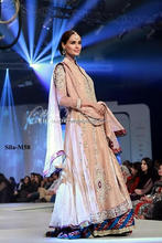 Full sleeves Embroidered frock with lenga bridal dress BE-M58