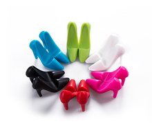 Funny New Design Silicone Mini High heel Shoe Cell Phone Holder for desk