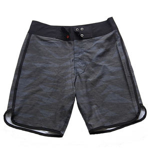 2018 high quality black beach shorts swim trunk mens black swimwear