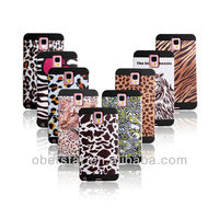 Hard Silicone Shell Two in One Combo Cell Phone Cover Case For Samsung Galaxy Note 3 N9000