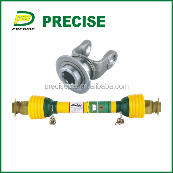 agricultural machinery spline tiller cross joint cardan pto shaft with CE