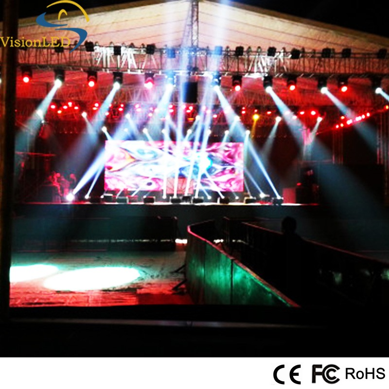 P3.91 Indoor removable LED display low weight video panel for rental