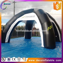 Advertising black inflatable spider tent from china