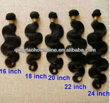 hot sell stock brasil extensiones de pelo remy