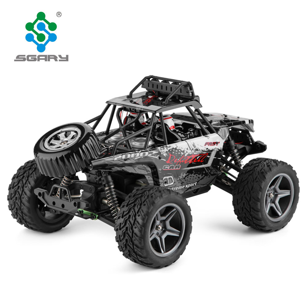 Racing Car 1/12 4WD 2.4G Radio Remote Control High Speed Off-Road Bigfoot Climbing <strong>Truck</strong> With LED Light Outdoor Toy