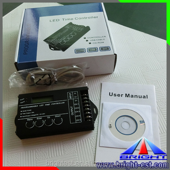 LED Strip Use 5 Channel Led Controller TC420,12V 24V DC 20A 5 Channel PC Program TC420