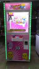 31 inch single catch toy game machine/plush toy catch game /catch gift vending machine